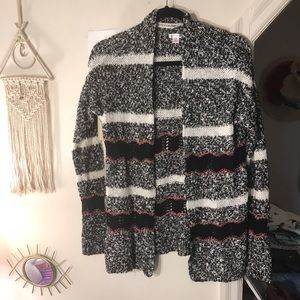 Striped cardigan sweater from Target